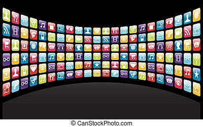 heiligenbilder, hintergrund, app, iphone