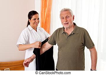 heime, krankenschwester, krankenpflege, altenpflege