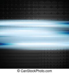 Hellblauer Vektor Hintergrund.