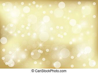 Heller goldener Dot Hintergrund