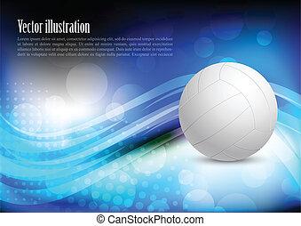 Heller Hintergrund mit Ball