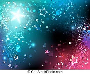 Heller Hintergrund mit Sternen
