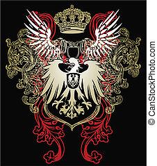 Herald Eagle Emblem