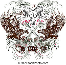 Herald Emblem Design