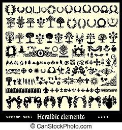 Heraldische Elemente, Blumensammlung