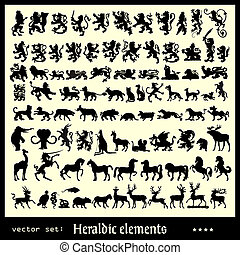 Heraldische Elemente
