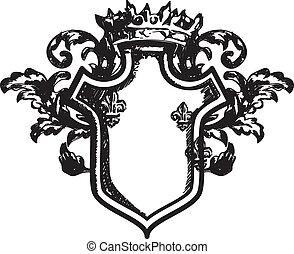 Heraldische Rüstung