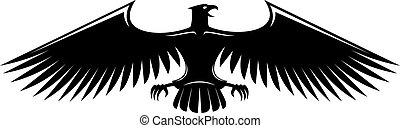 Heraldischer Adler.