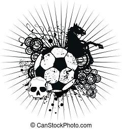 Heraldischer Fußballmantel mit Wappen Crest4.