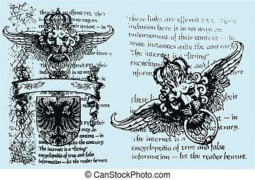 Heraldischer Löwe, königliches Emblem