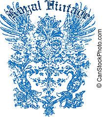 Heraldisches Flügeldesign