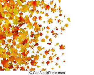 Herbst hinterlässt Hintergrund