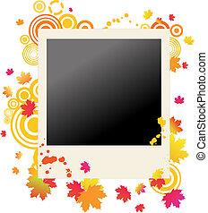 Herbstgraung Polaroid