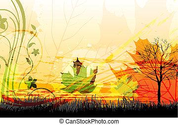 Herbstkarte abbrechen