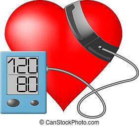 Herz - Blutdruckmonitor