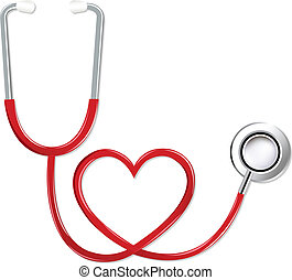 herz- form, stethoskop