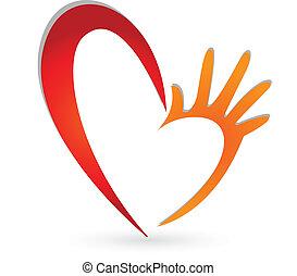 Herz-Hände-Logo