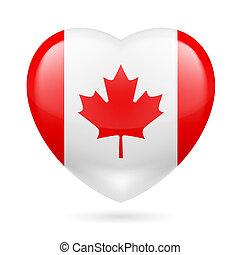 Herz Ikone von Kanada