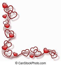Herz im Rahmen
