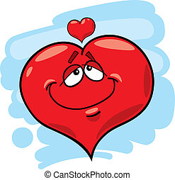 Herz in Liebe.