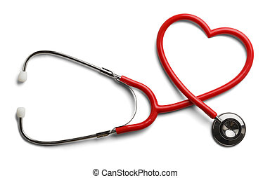 Herz Stethoskop