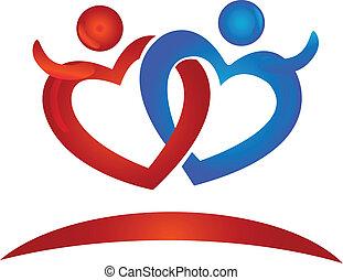 Herz zählt Logo