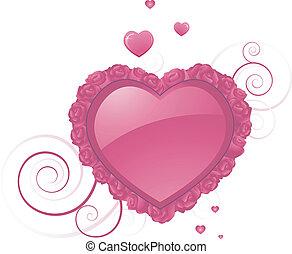Herzformdesign