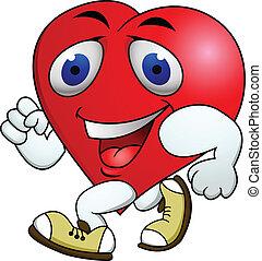 Herzkartonübung