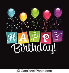 Herzlichen Glückwunsch zum Geburtstag.