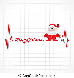 herzschlag, weihnachten, text, machen, fröhlich