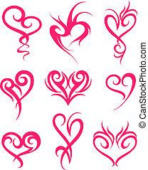 Herzsymboldesign