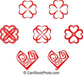 Herzsymbole