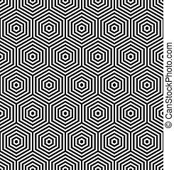 Hexagon sind nahtlos.