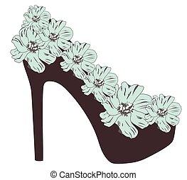 High Heel Schuh.