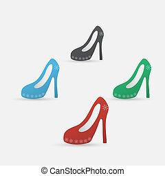 High Heel Schuhe Icon