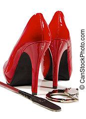 High Heels und Reiternte