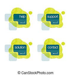 Hilfe, Unterstützung, Lösung, Kontakt
