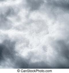 Himmel bewölkt den Lebensraum