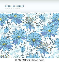 Himmlische Blumen horizontal zerrissenes Musteralbum