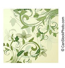 Hintergrund abstraktes Blumenmuster.