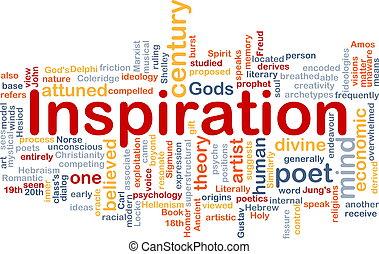 hintergrund, begriff, inspiration