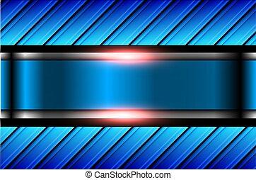 hintergrund, blaues, abstrakt