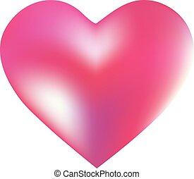 hintergrund, gefärbt, heart., form