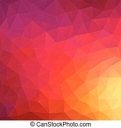 Hintergrund geometrischer Formen. Retro-Dreieck Hintergrund. Farbiges Mosaikmuster.