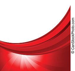 Hintergrund in roter Farbe abbrechen