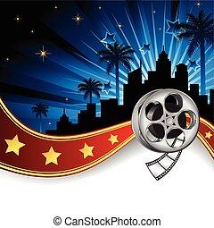 Hintergrund inspiriert von Filmindustr