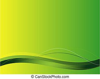 Hintergrund mit abstrakten, glatten Linien