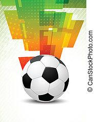 Hintergrund mit Ball