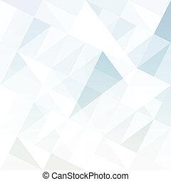 Hintergrund mit Dreiecken abbrechen. Vector.