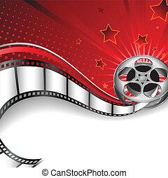 Hintergrund mit Kinomotiven